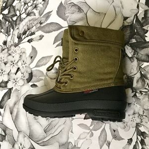 Other - Boys Army Green Winter Boots